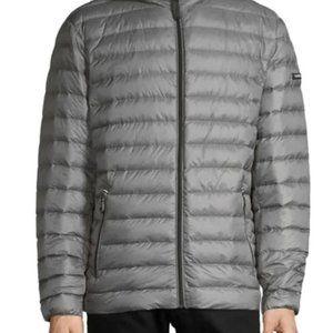 Calvin Klein Men's Packable Hooded Coat